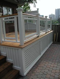 Alla about deck skirting ideas lattice, other than lattice, under deck skirting ideas, inexpensive deck skirting ideas, unique deck skirting ideas, metal deck skirting ideas, horizontal deck skirting ideas, diy deck skirting ideas, raised deck skirting ideas, cheap deck skirting ideas, deck skirting ideas, deck skirt board ideas, composite deck skirting ideas #deck #skirting #ideas
