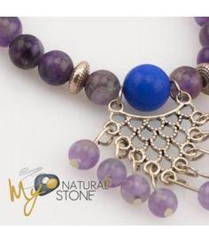 Pulseiras únicas em pedras naturais, banhadas ao ouro, prata, elegância e charme na bijuteria - My Natural Stone