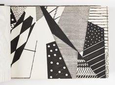 """Design is fine. History is mine. — Wallpaper sample book, """"Dessins Nouveauté"""",..."""