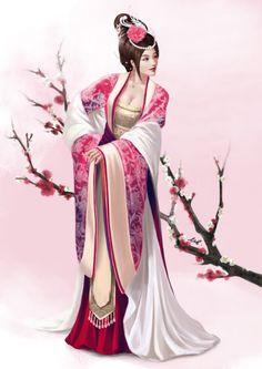 """Képtalálat a következőre: """"geisha png"""" Japanese Geisha, Japanese Beauty, Japanese Kimono, Japanese Girl, Art Geisha, Chinese Art, Asian Art, Female Art, Asian Woman"""