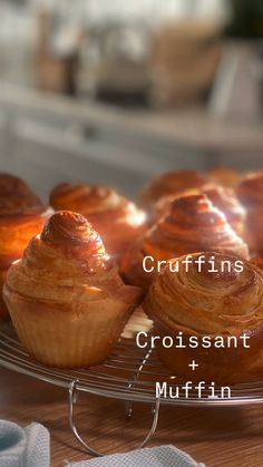 Sweet Recipes, Cake Recipes, Pan Dulce, Weird Food, Croissant, Donuts, Cravings, Muffins, Food And Drink