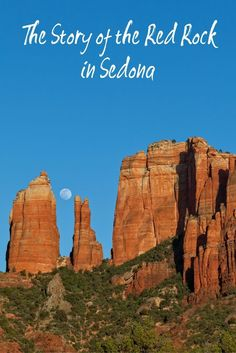 Perhaps the most notable of the natural landscapes in Sedona is the red rock formations. This is a little background on how the red rock was formed! Arizona Road Trip, State Of Arizona, Arizona Travel, Sedona Arizona, Oak Creek Canyon Arizona, Road Trip Destinations, Rock Formations, Family Activities, Weekend Getaways