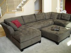Comfy Couches i want a leather couch with extra deep seating and soft leather