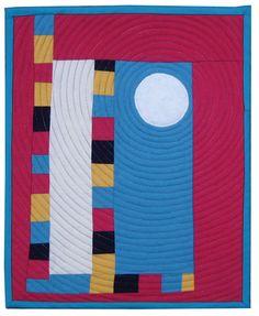 Textile Art Quilt, wool quilt