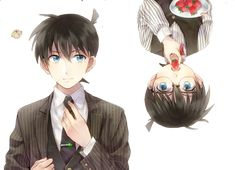 Render 674 - 15.9.2015 - Conan And Shinichi by MizuMiKID