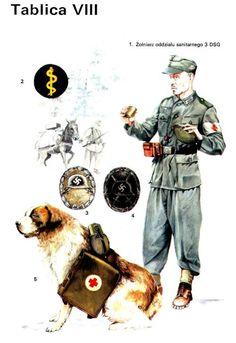 Imagen German Police, German Army, Lego Ww2, Ww2 Uniforms, German Soldiers Ww2, Military Insignia, War Dogs, Army Uniform, Military History