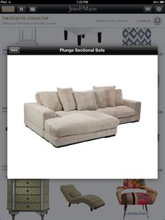 I Want A Big Fluffy Couch Like This! SofaSofas