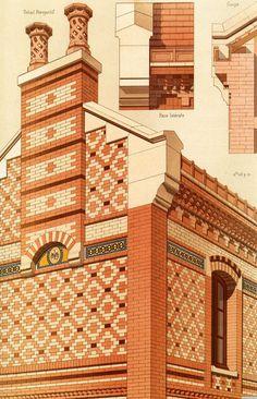 1 | Victorian Brick and Terra-Cotta Architecture - Викторианская кирпичная и терракотовая архитектура | ARTeveryday.org