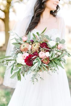 Bohemian Wedding Bouquet | Photo: Christopher Nolan Photography | Bouquet: Magnolia Belle Floral | Arkansas |