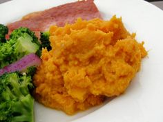 Easy Maple Mashed Sweet Potatoes