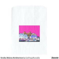 Grodno Belarus Architecture Favor Bag