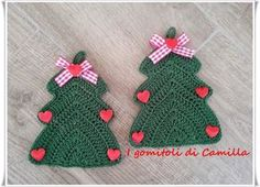 Amigurumi Natale Schemi Gratis Italiano : Albero di natale amigurumi ○ alberto l alberello annalisa l