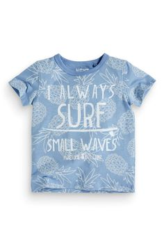 Buy Surf Printed T-Shirt (3mths-6yrs) online today at Next: United States of America