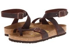 Birkenstock Yara Women's Sandals Habana Oiled Leather