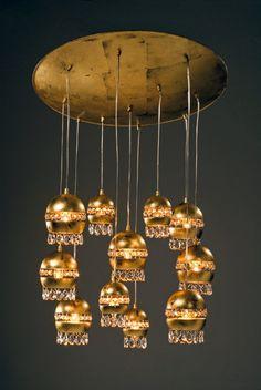 Handmade Chandelier, Ceiling Light.