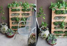 Decoración de terrazas y jardines con palés