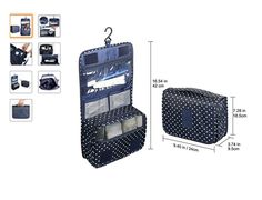 Waterproof Hanging Travel Toiletry Cosmetic Bag Makeup Bag 8914ec909e49e