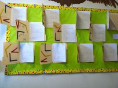 Lapbooks on angles and other subjects, also bulletin boards and foldables