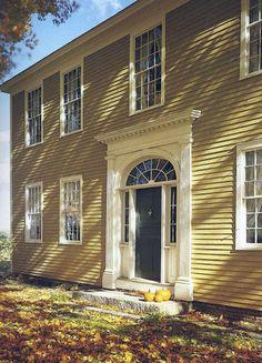 Samuel Read Hall House, Brownington, Vermont, 1832.