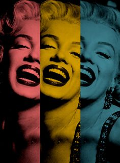Day With Marilyn Art Print
