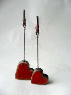 Herz-Fotohalter Incense, Father's Day, Clay, Heart, Hang In There