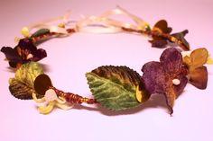Bohemian flower crown hairband. Floral bridal by SheSellsHeart, £23.00