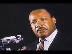An excerpt from the last speech given by Rev. Dr. Martian Luther King Jr. He was assassinated in Memphis, Tennessee the next day on April 4, 1968.