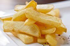 Patatas fritas con la thermomix #PatatasFritas #PatatasFritasThemomix #RecetasVeganas #RecetasVegetarianas #Tapas #GuarnicionThermomix