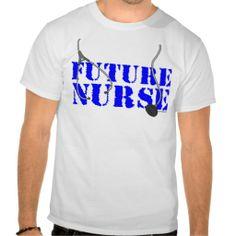 Future Nurse Tee Shirts