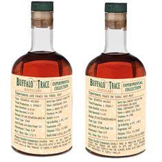 Buffalo Trace unveils experimental Bourbons