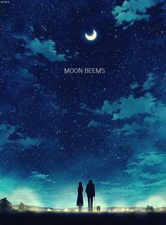 Moon beems