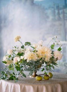 Fresh Florals: Dahlia| White Washed Comfort