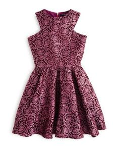 Miss Behave Girls' Floral Print Dress - Sizes S-XL | Bloomingdale's