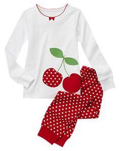 Cherry Dots PJ  GYMBOREE