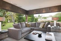 Corner couch.