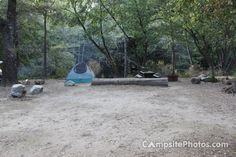 Big Sur Camping Spot.,..one of the earliest camping favorites was Big Sur State Park along the California coast.