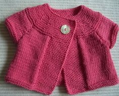 Merino silk and cachemire cardigan for baby by cachemireetc Baby Cardigan, Baby Pullover, Red Cardigan, Cardigan Pattern, Baby Knitting Patterns, Knitting For Kids, Baby Patterns, Crochet Baby, Knit Crochet