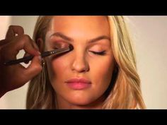 How to: Candice Swanepoel Makeup Look HD - YouTube