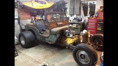 Rat rodded jeep Jeep Rat Rod, Rat Rod Cars, Jeep Xj, Rat Rods, Jeep Scout, T Bucket, Jeep Stuff, Rc Cars, 4 Life