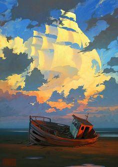 Artem Cheboha Rhads, 1987 | Surrealist Digital painter | Tutt'Art@ | Pittura * Scultura * Poesia * Musica |