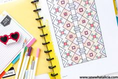 Strip Quilts, Quilt Blocks, Tombow Markers, Electric Quilt, Rainbow Quilt, Half Square Triangles, Quilting For Beginners, Graph Paper, Paper Piecing