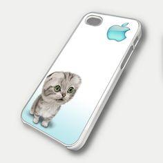 CUTE CAT 2 - iPhone 4 Case, iPhone