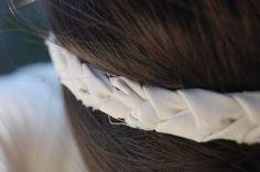 DIY headband using old tees -- need to make this weekend