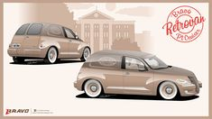 "Chrysler PT Cruiser ""Retrovan"", Victor Braga E Bravo Cruiser Car, Chrysler Pt Cruiser, Shop Truck, Mopar, Cars And Motorcycles, Cool Cars, Brave, Vans, Victoria"