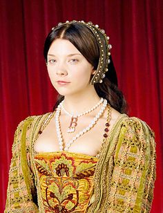 Natalie Dormer as Anne Boleyn in 'The Tudors'