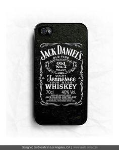 Jack Daniel Whiskey iPhone Hard Case