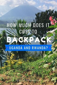 BACKPACKING UGANDA AND RWANDA - How much did I spent? Find out my total costs, average costs per day and price examples (e.g. the price of a gorilla trekking, glamping or a volcano hike). A blogpost by Bunch of Backpackers. #uganda #rwanda #africa #backpacking
