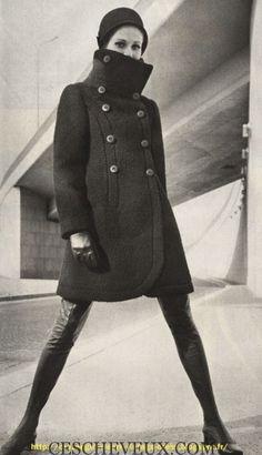 manteau et chapeau
