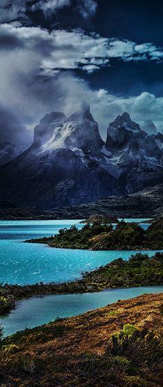 Parque Nacional de Torres del Paine, Chile                                                                                                                                                     Más