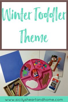 Winter toddler theme | Wither tot school them | Winter activities for toddlers